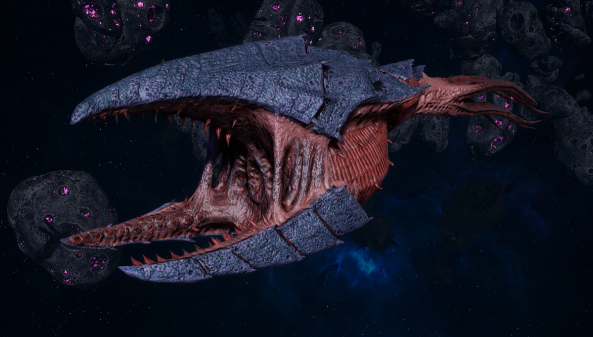"Tyranid Frigate - ""Clutch Kraken"" - [Behemoth Sub-Faction]"
