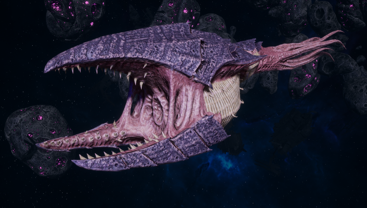 "Tyranid Frigate - ""Clutch Kraken"" - [Leviathan Sub-Faction]"