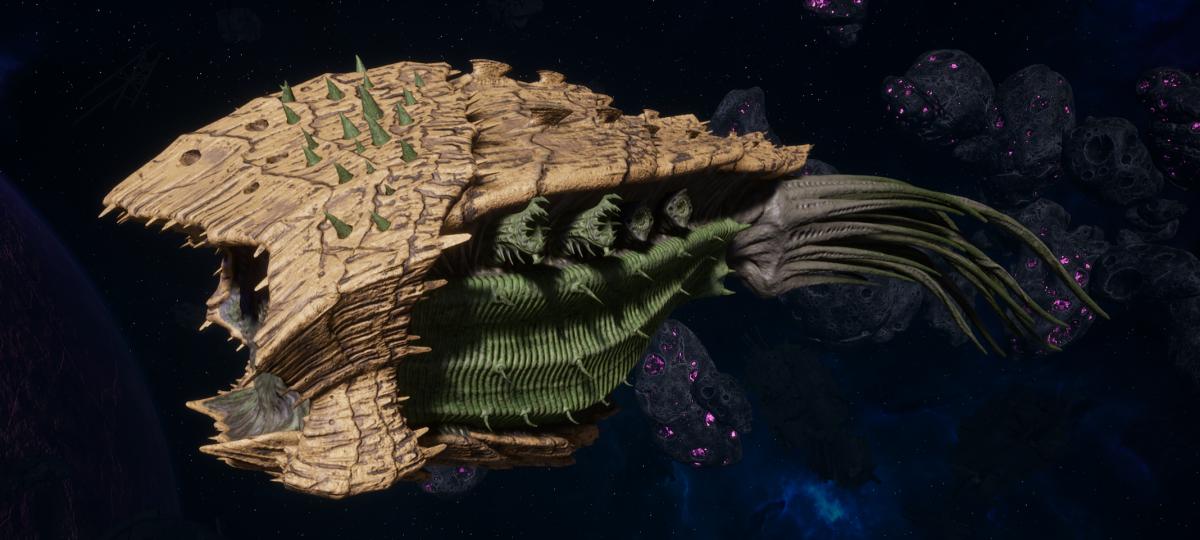 "Tyranid Cruiser - ""Bio Acid Projectile Razorfiend"" - [Gorgon Sub-Faction]"