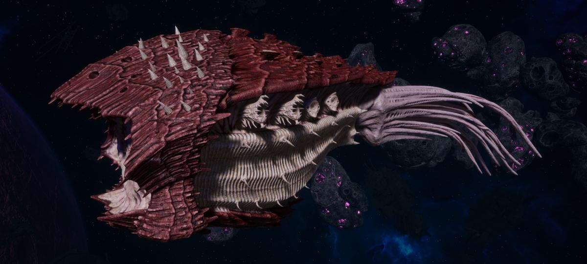 "Tyranid Cruiser - ""Bio Acid Projectile Razorfiend"" - [Kraken Sub-Faction]"