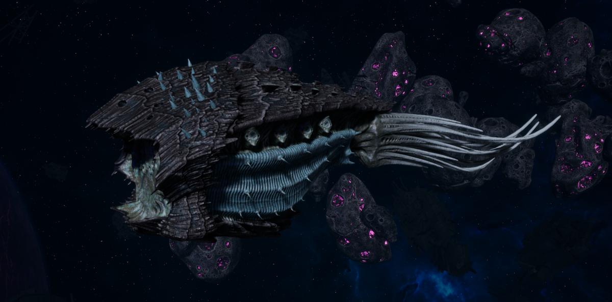 "Tyranid Cruiser - ""Bio Projectile Razorfiend"" - [Ouroboris Sub-Faction]"