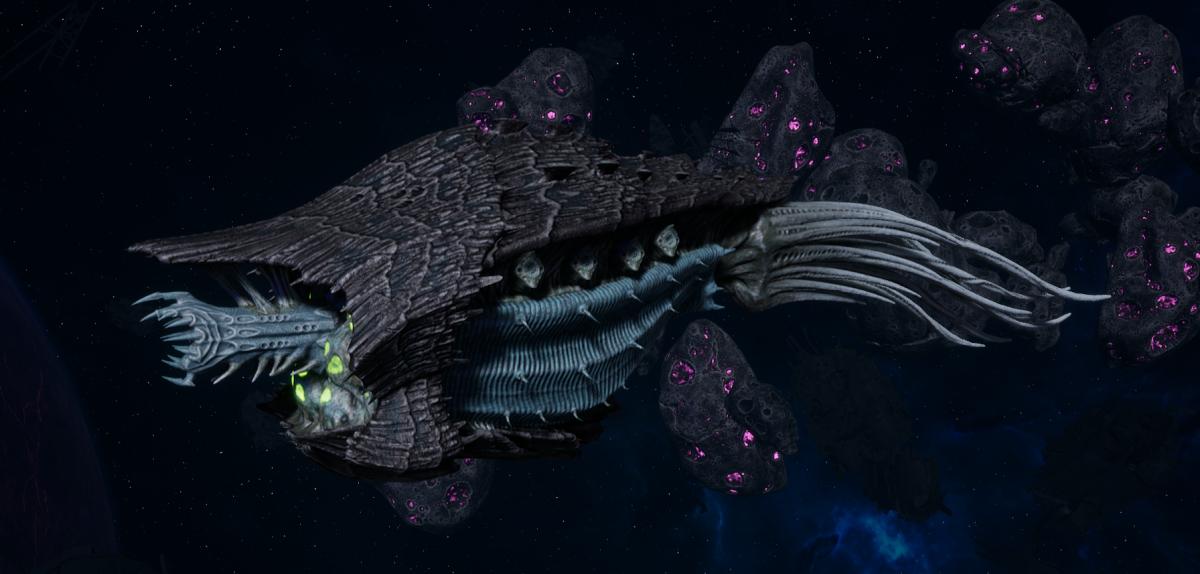 "Tyranid Cruiser - ""Bio Acid Razorfiend"" - [Ourobris Sub-Faction]"