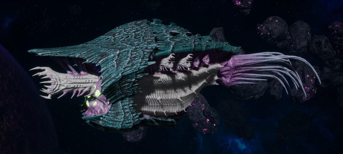 "Tyranid Cruiser - ""Bio Corrosive Razorfiend"" - [Tiamet Sub-Faction]"
