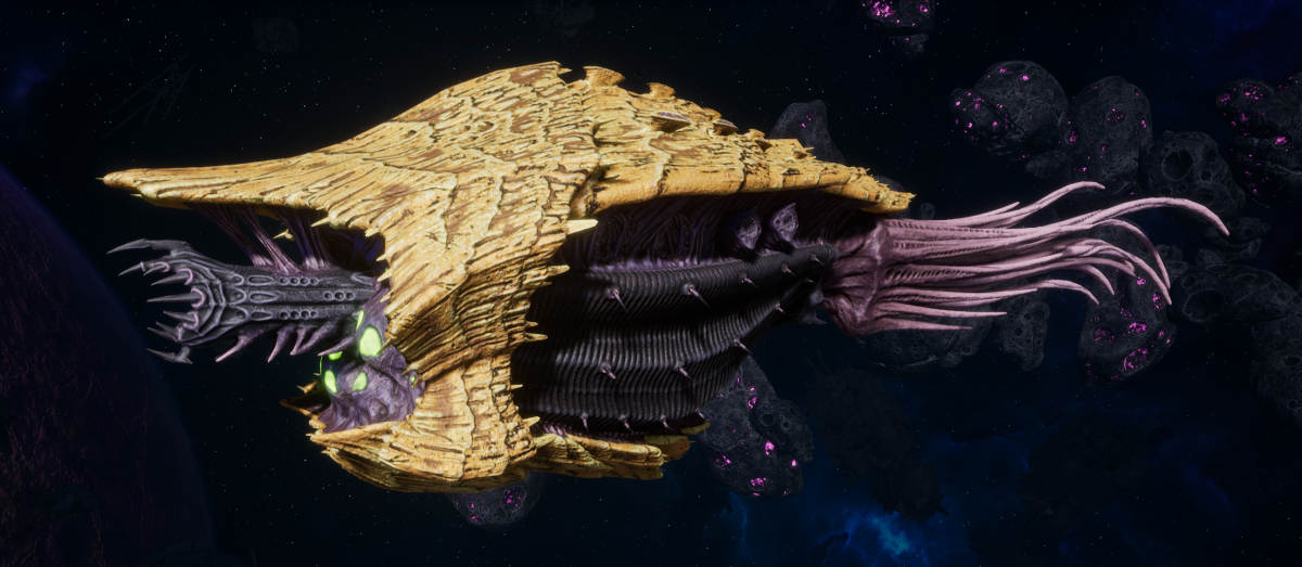 "Tyranid Cruiser - ""Bio Infestation Razorfiend"" - [Jormungandr Sub-Faction]"