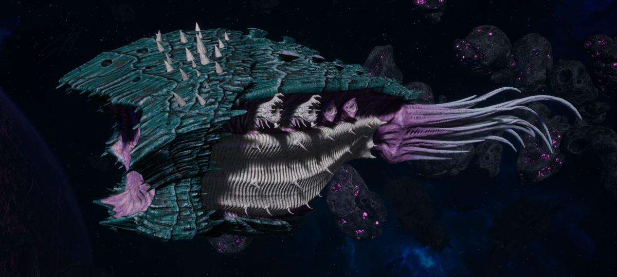 "Tyranid Cruiser - ""Bio Acid Projectile Razorfiend"" - [Tiamet Sub-Faction]"