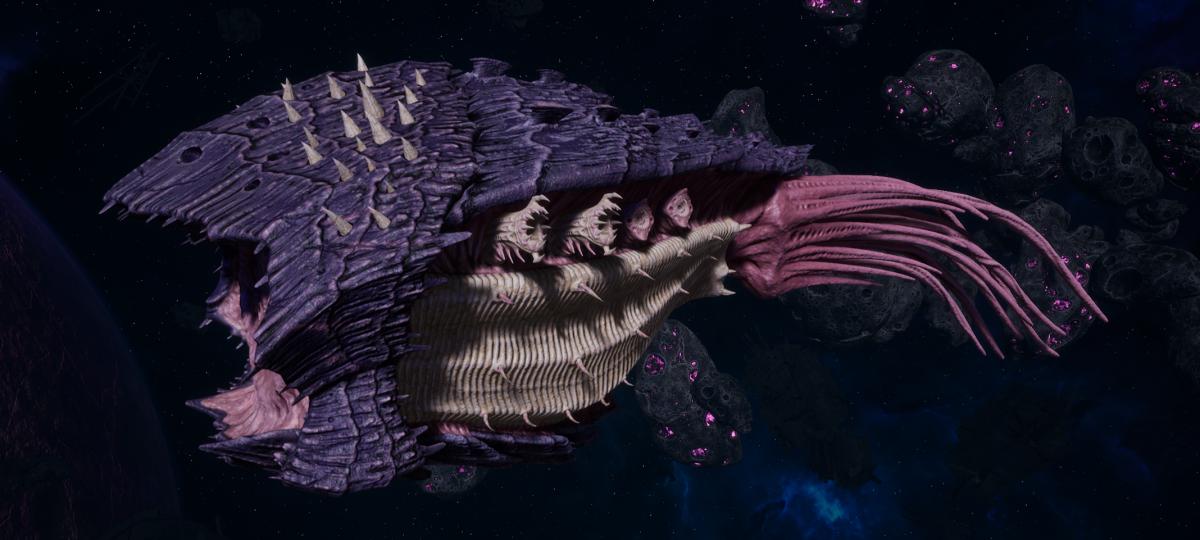 "Tyranid Cruiser - ""Bio Acid Projectile Razorfiend"" - [Leviathan Sub-Faction]"