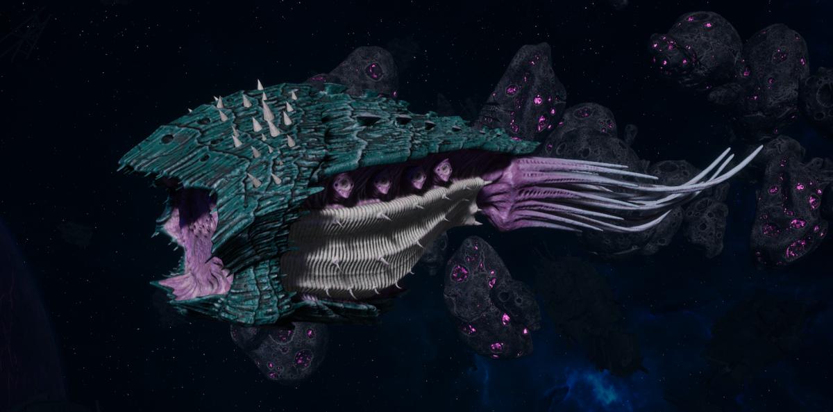 "Tyranid Cruiser - ""Bio Projectile Razorfiend"" - [Tiamet Sub-Faction]"