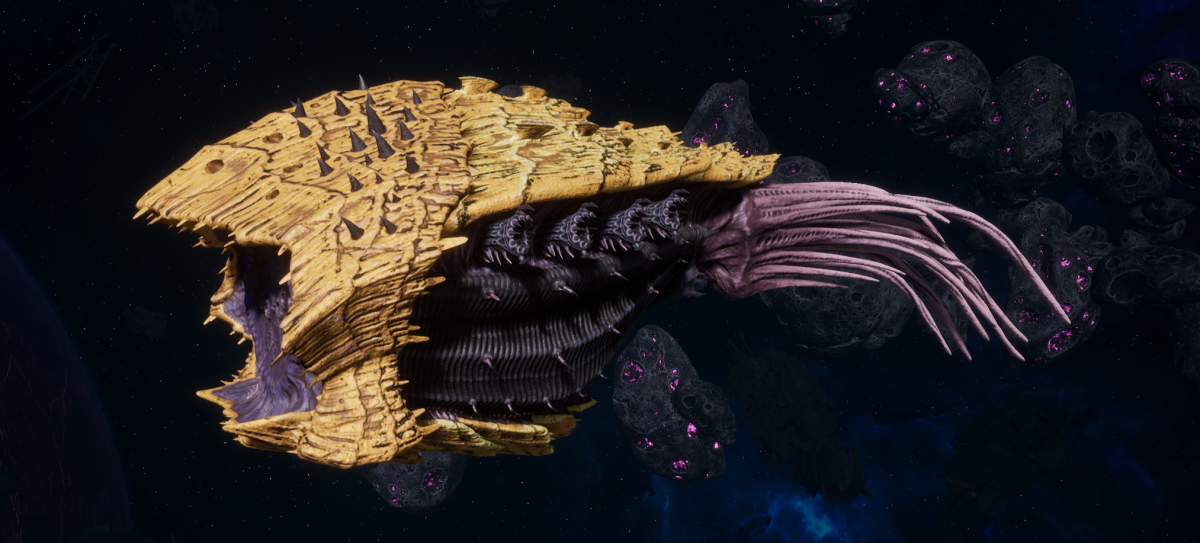 "Tyranid Cruiser - ""Corrosive Projectile Razorfiend"" - [Jormungandr Sub-Faction]"
