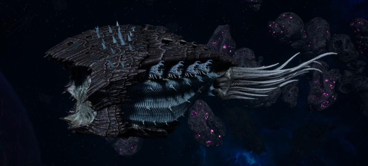 """Tyranid Cruiser - """"Corrosive Projectile Razorfiend"""" - [Ourobris Sub-Faction]"""