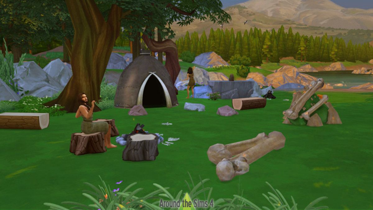 Go back to the Stone Age with Sims 4 prehistoric custom content!