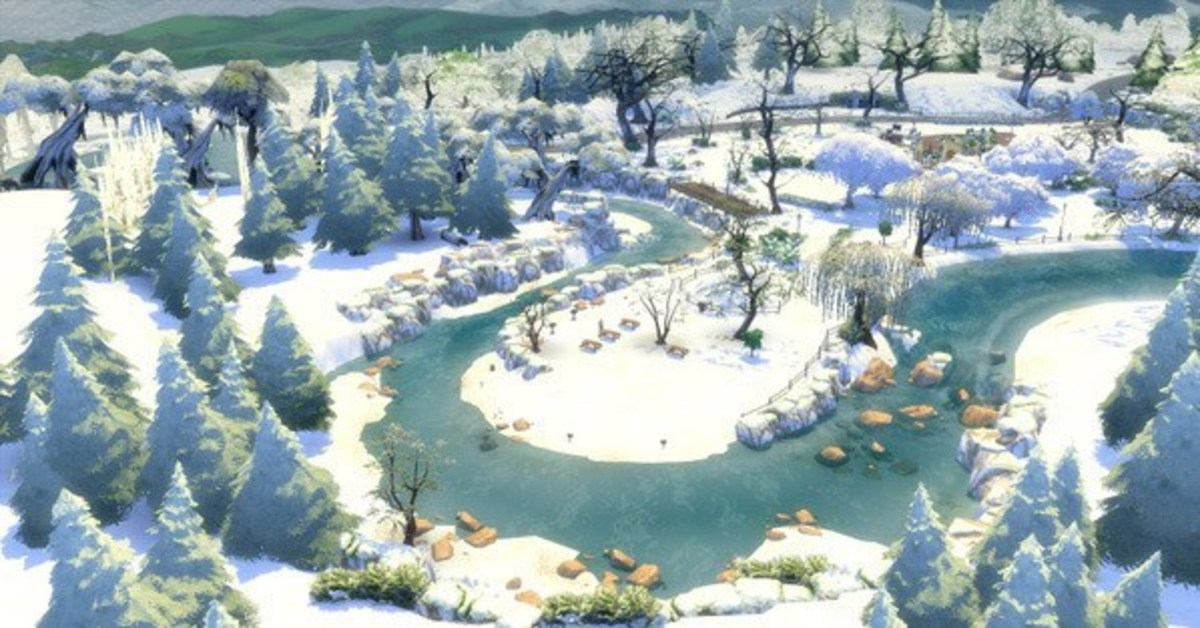 Have your world covered in snow year-round with The Sims 4 First Snow Mod!