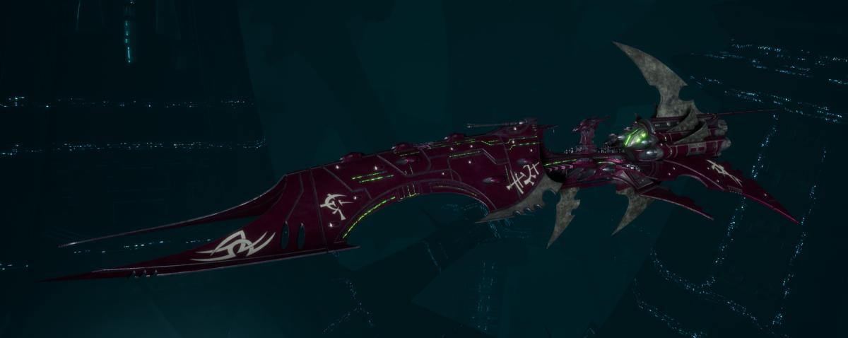 Drukhari Raider Battleship - Iron Thorn - [The Severed Sub-Faction]
