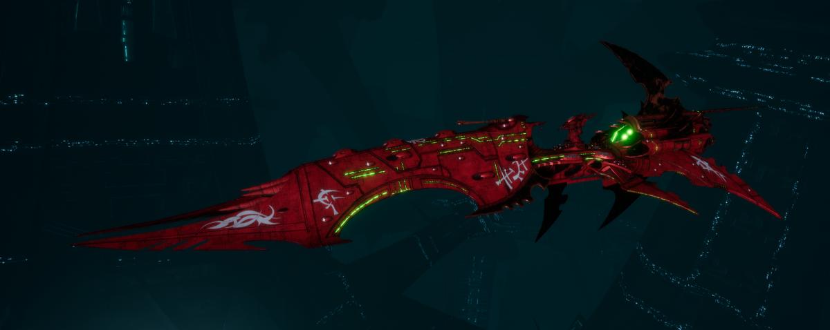 Drukhari Raider Battleship - Dying Sun - [Ynnari Sub-Faction]