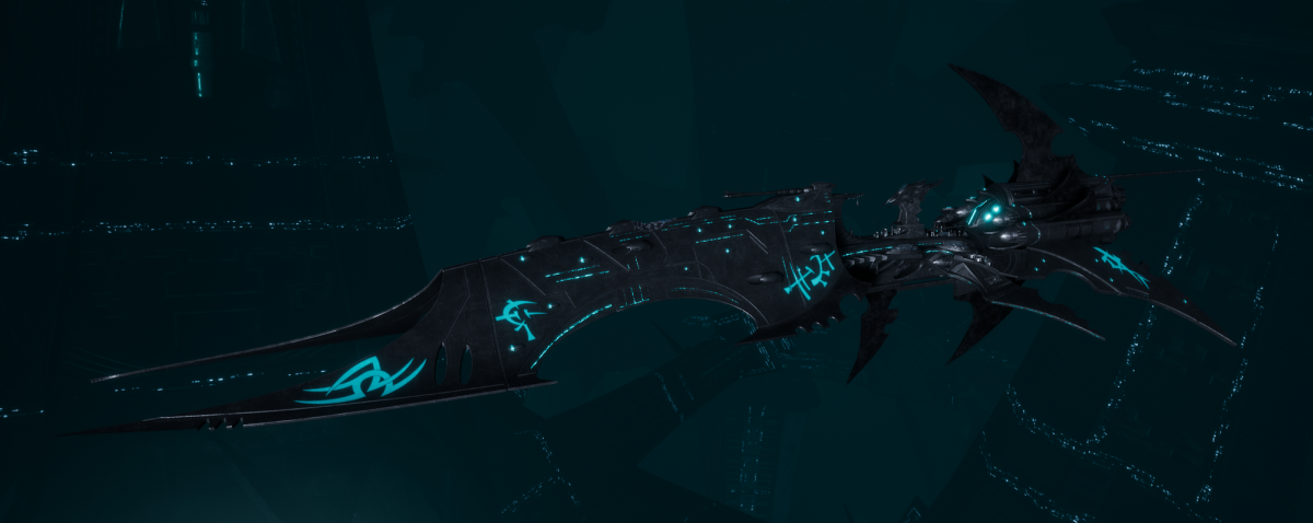 Drukhari Raider Battleship - Iron Thorn - [Iron Thorn Sub-Faction]