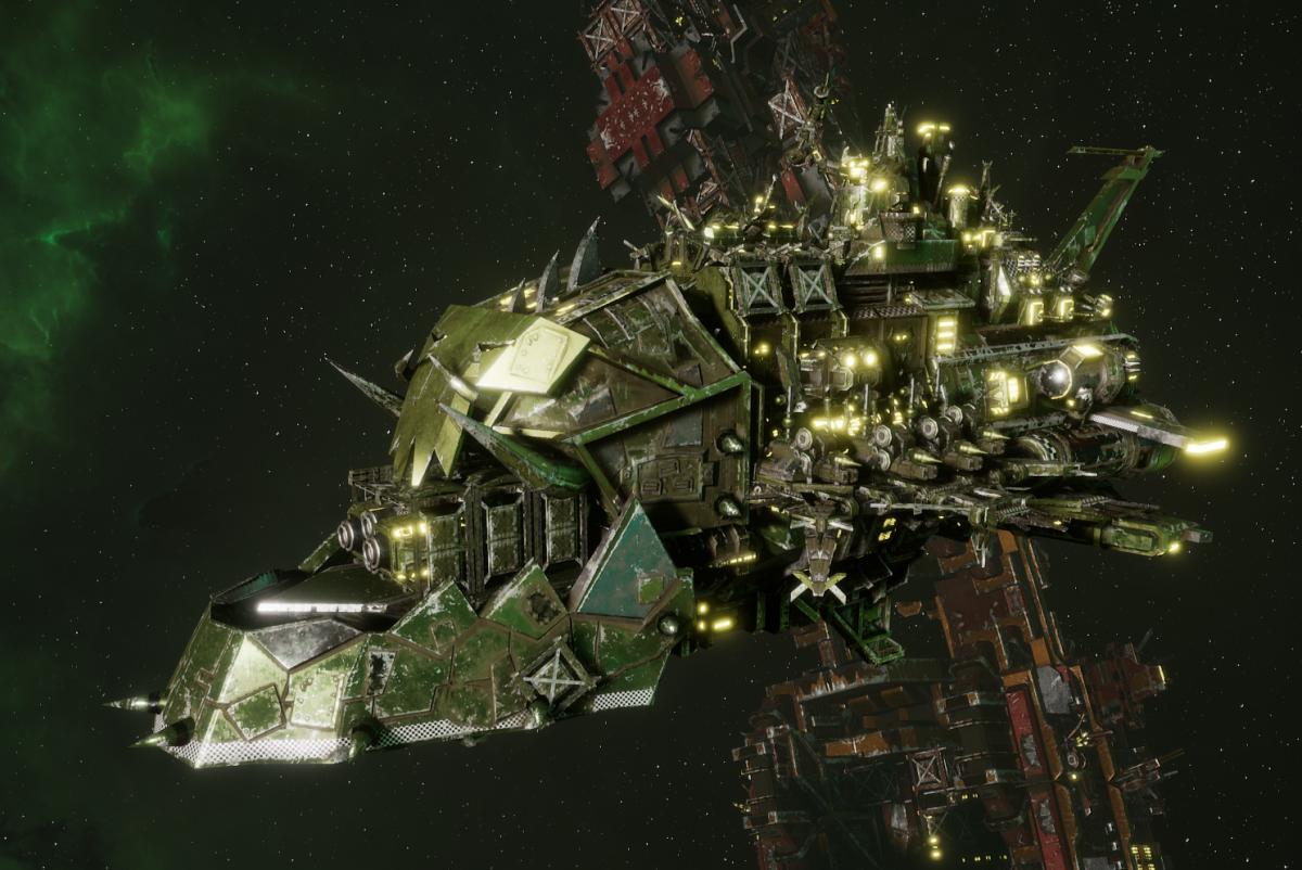 "Ork Light Cruiser - ""Basha Ordzdaka"" - [Blood Axes Sub-Faction]"
