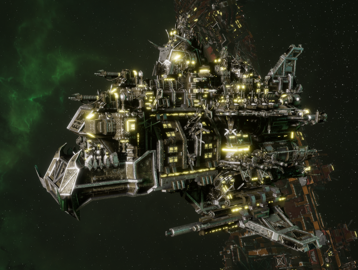"Ork Battle Cruiser - ""Hammer Smacka"" - [Goffs Sub-Faction]"