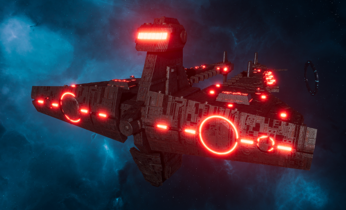 "Tau Allied Cruiser - Demiurg ""Bastion"""