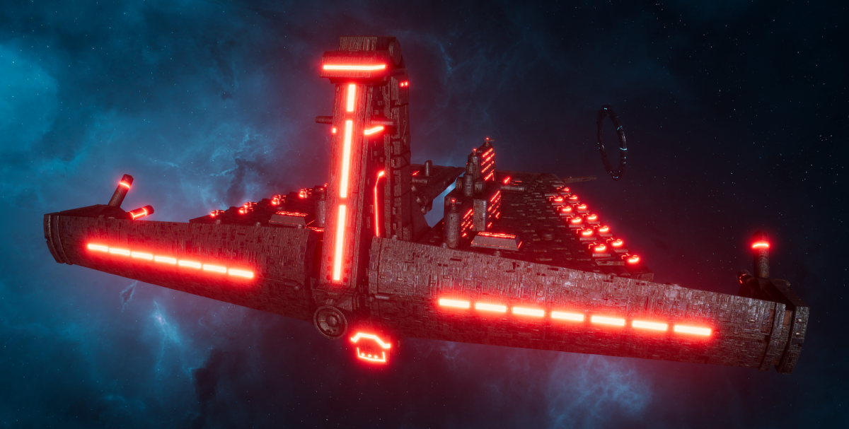 "Tau Allied Battleship - Demiurg ""Stronghold"""