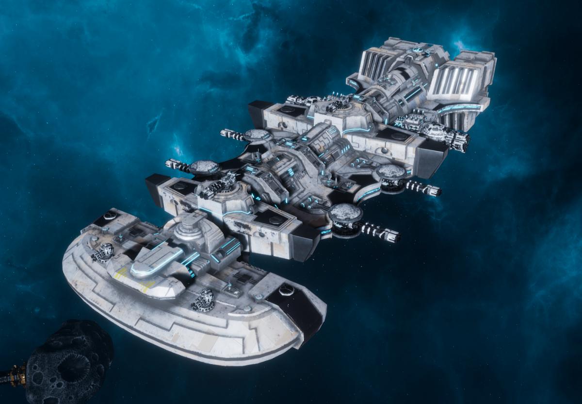 "Tau Merchant Fleet Light Cruiser - ""Il'Fannor Dal'Yth"" - [Tau'n Sub-Faction]"