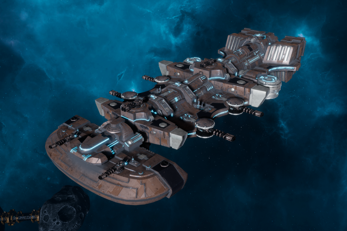 "Tau Merchant Fleet Light Cruiser - ""Il'Fannor Ke'lShan"" - [D'Yanoi Sub-Faction]"
