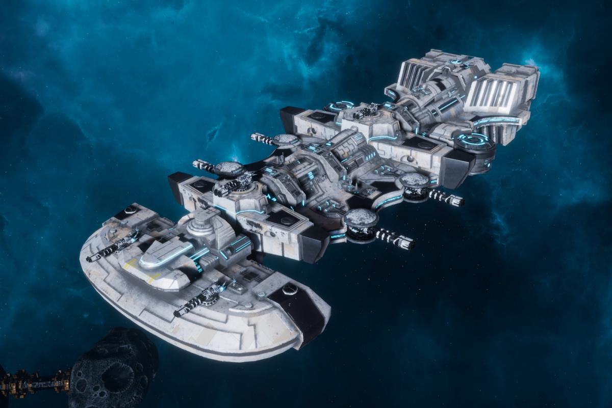 "Tau Merchant Fleet Light Cruiser - ""Il'Fannor Ke'lShan"" - [Tau'n Sub-Faction]"