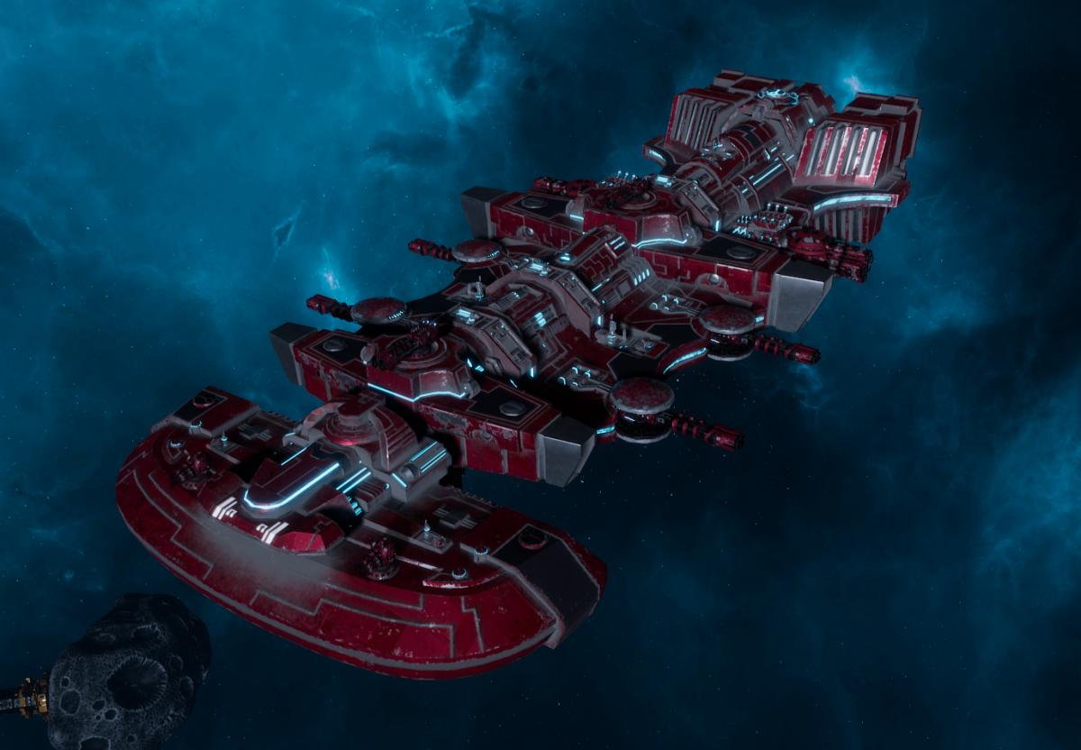 "Tau Merchant Fleet Light Cruiser - ""Il'Fannor Dal'Yth"" - [Farsight Enclave Sub-Faction]"