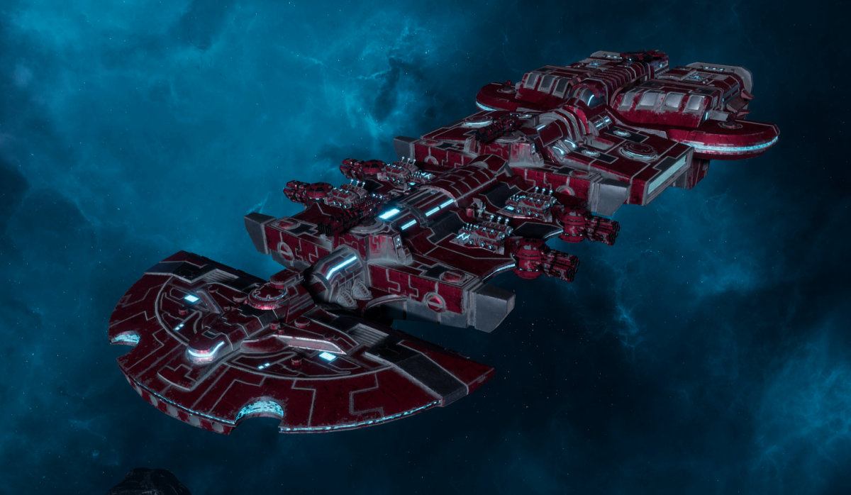 "Tau Merchant Fleet Cruiser - ""Lar'Shi Vash'Ya"" - [Farsight Enclave Sub-Faction]"