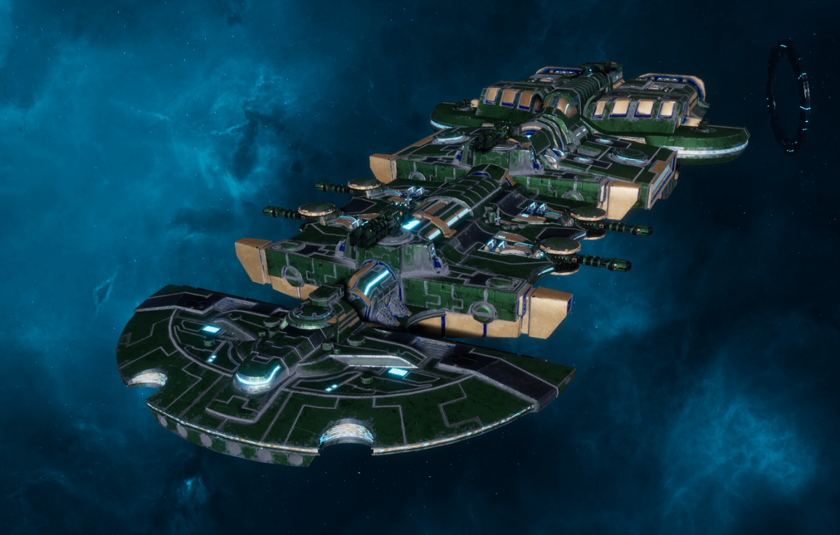"Tau Merchant Fleet Cruiser - ""Lar'Shi Tolku"" - [Dal'yth Sub-Faction]"