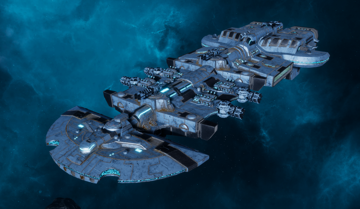 "Tau Merchant Fleet Cruiser - ""Lar'Shi Vash'Ya"" - [Sa'cea Sub-Faction]"