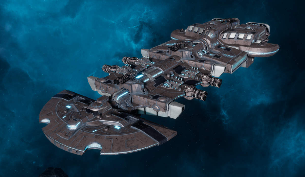 "Tau Merchant Fleet Cruiser - ""Lar'Shi Vash'Ya"" - [D'Yanoi Sub-Faction]"