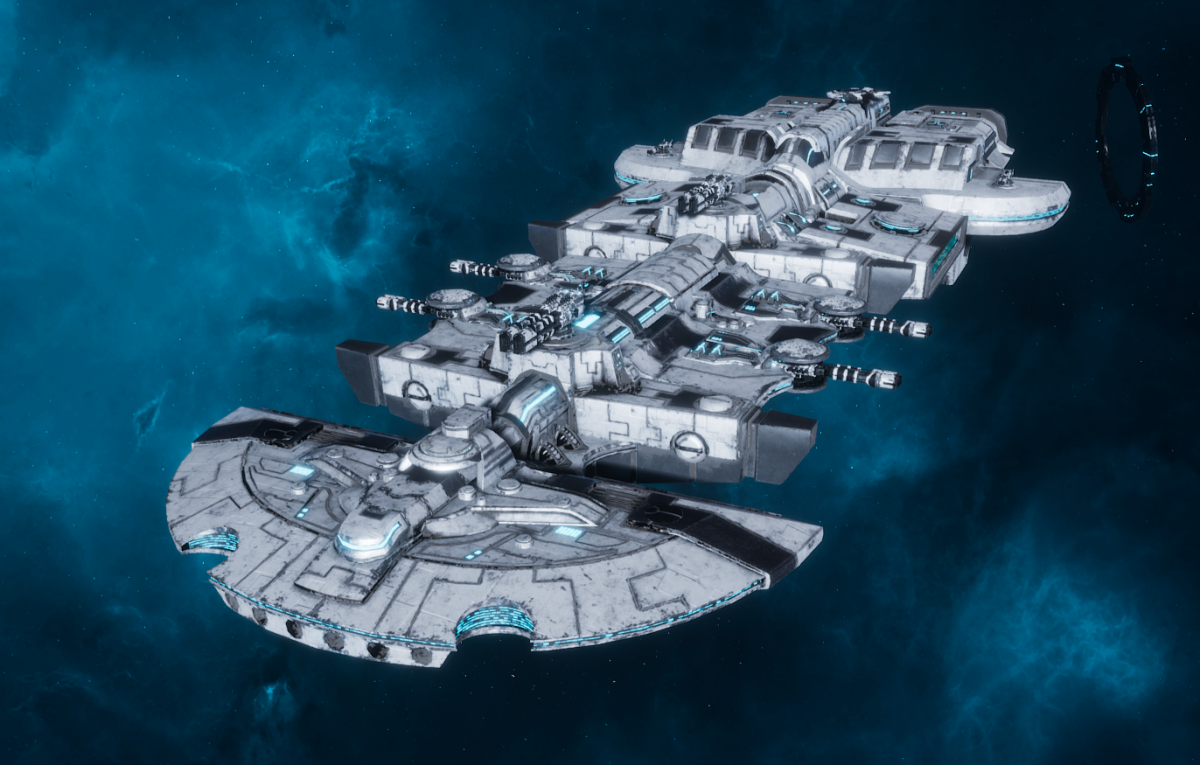 "Tau Merchant Fleet Cruiser - ""Lar'Shi Tolku"" - [Tau'n Sub-Faction]"