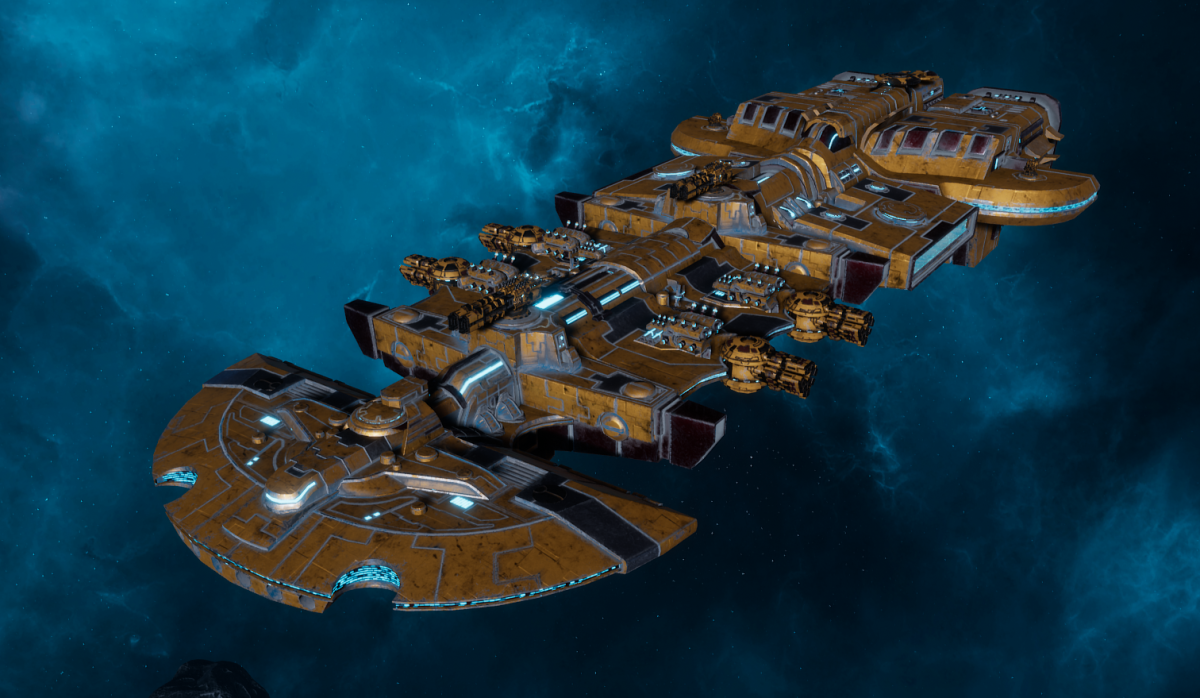 "Tau Merchant Fleet Cruiser - ""Lar'Shi Vash'Ya"" - [T'au Sub-Faction]"
