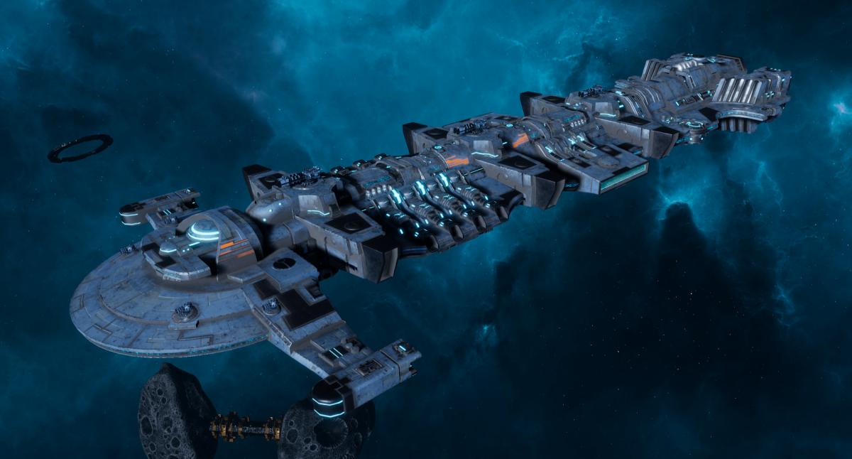 "Tau Merchant Fleet Battleship - ""Gal'Leath Bor'Kan"" - [Sa'cea Sub-Faction]"
