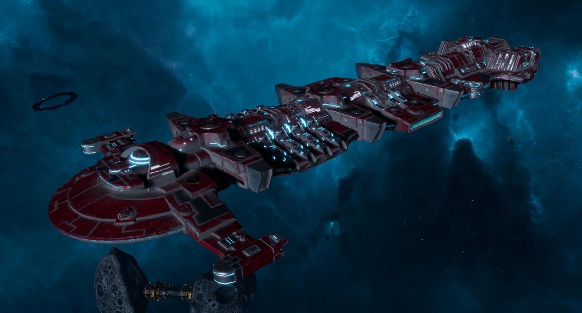 "Tau Merchant Fleet Battleship - ""Gal'Leath Bor'Kan"" - [Farsight Enclave Sub-Faction]"