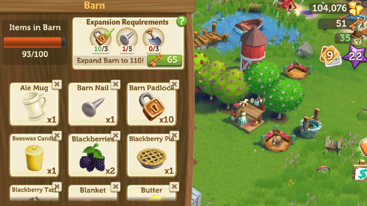 Upgrade your barn as soon as possible!
