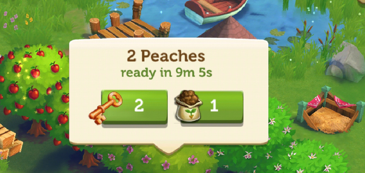 Use your speed grow only when you need products to complete a timed task.