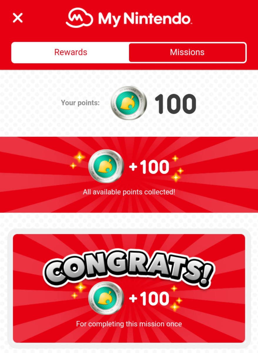 Create a My Nintendo account and get extra rewards!