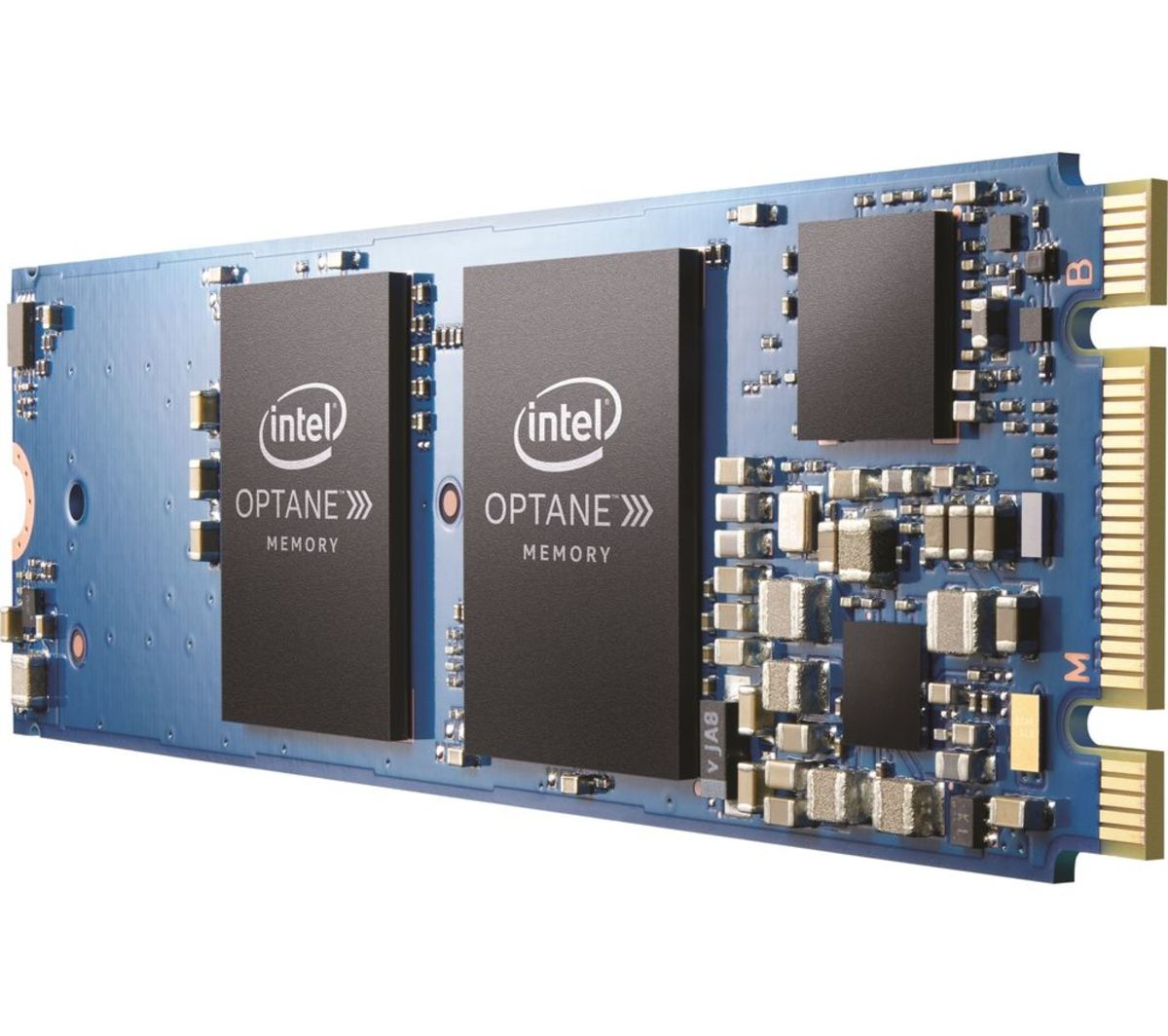 Intel Optane Memory technology reduces loading time and improves execution times when playing games or multitasking.