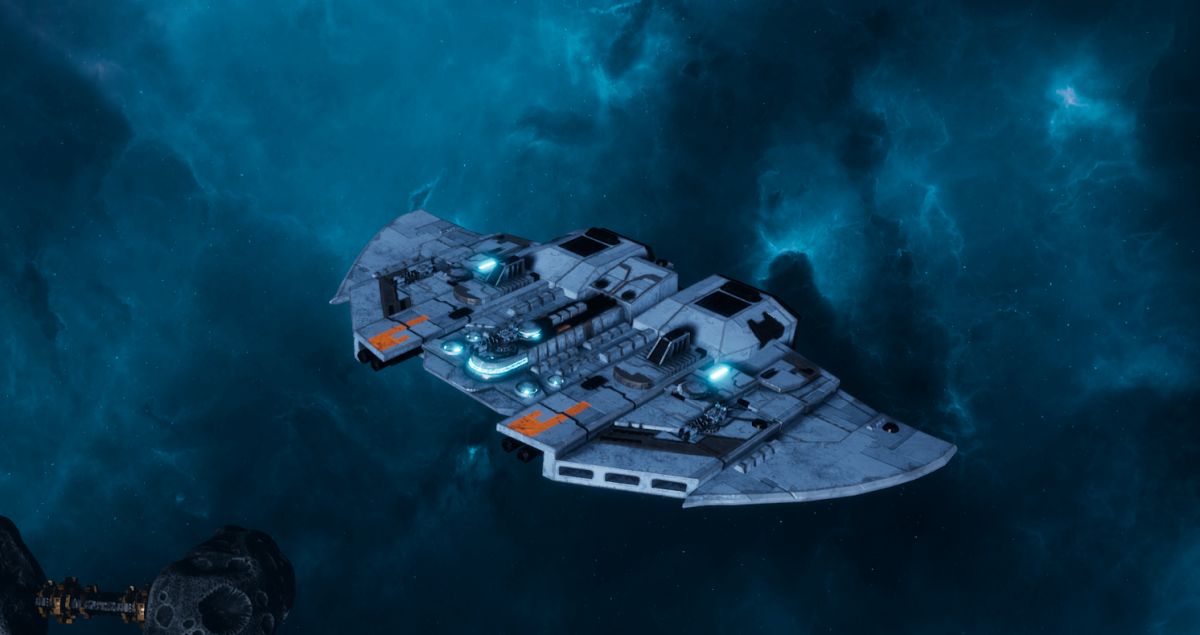 "Tau Protector Fleet Frigate - ""Castellan"" - [Sa'cea Sub-Faction]"