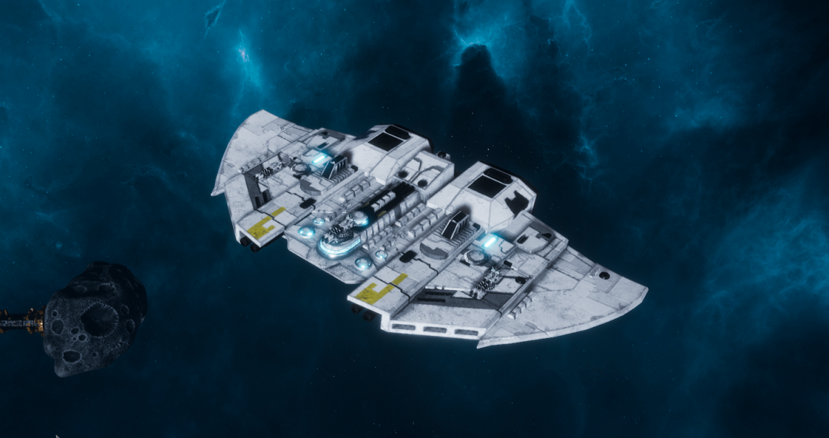 "Tau Protector Fleet Frigate - ""Castellan"" - [Tau'n Sub-Faction]"