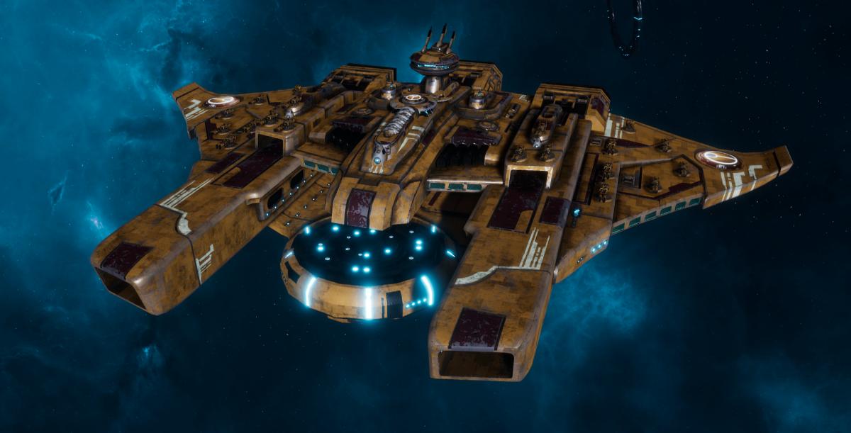 "Tau Protector Fleet Battleship - Or'Es El'Eleath ""Custodian"" - [T'au Sub-Faction]"
