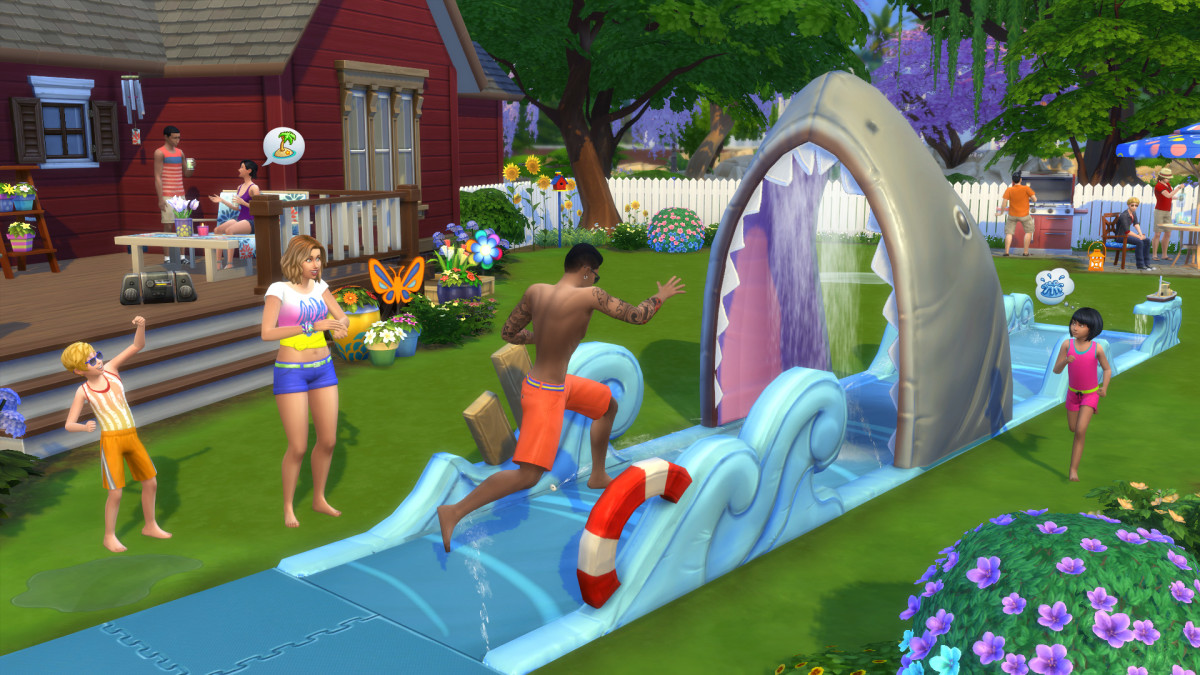 The Sims 4 Backyard Stuff
