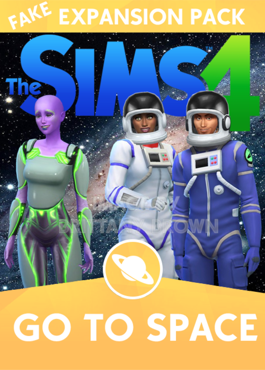 The Sims 4 Go To Space Expansion Pack.