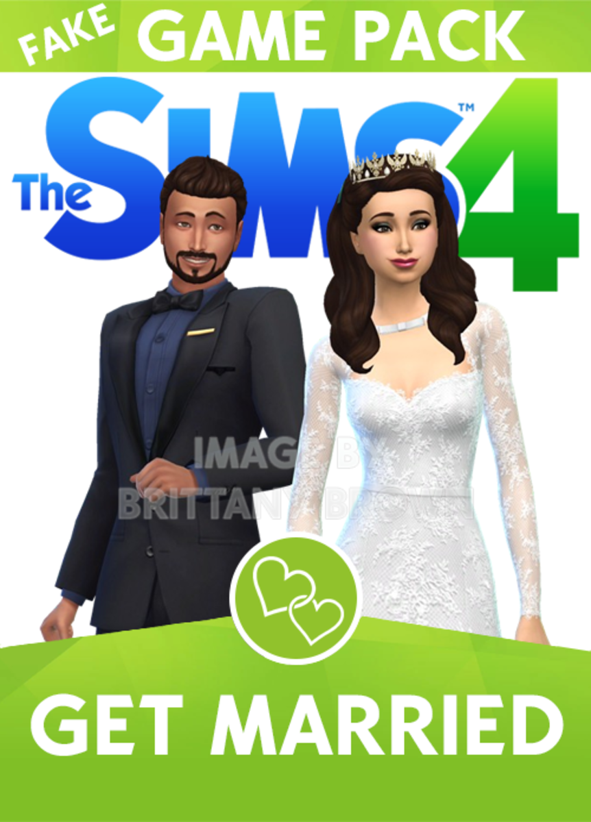 The Sims 4 Get Married Game Pack.  Dress, tiara and bouquet by BEOCreations.
