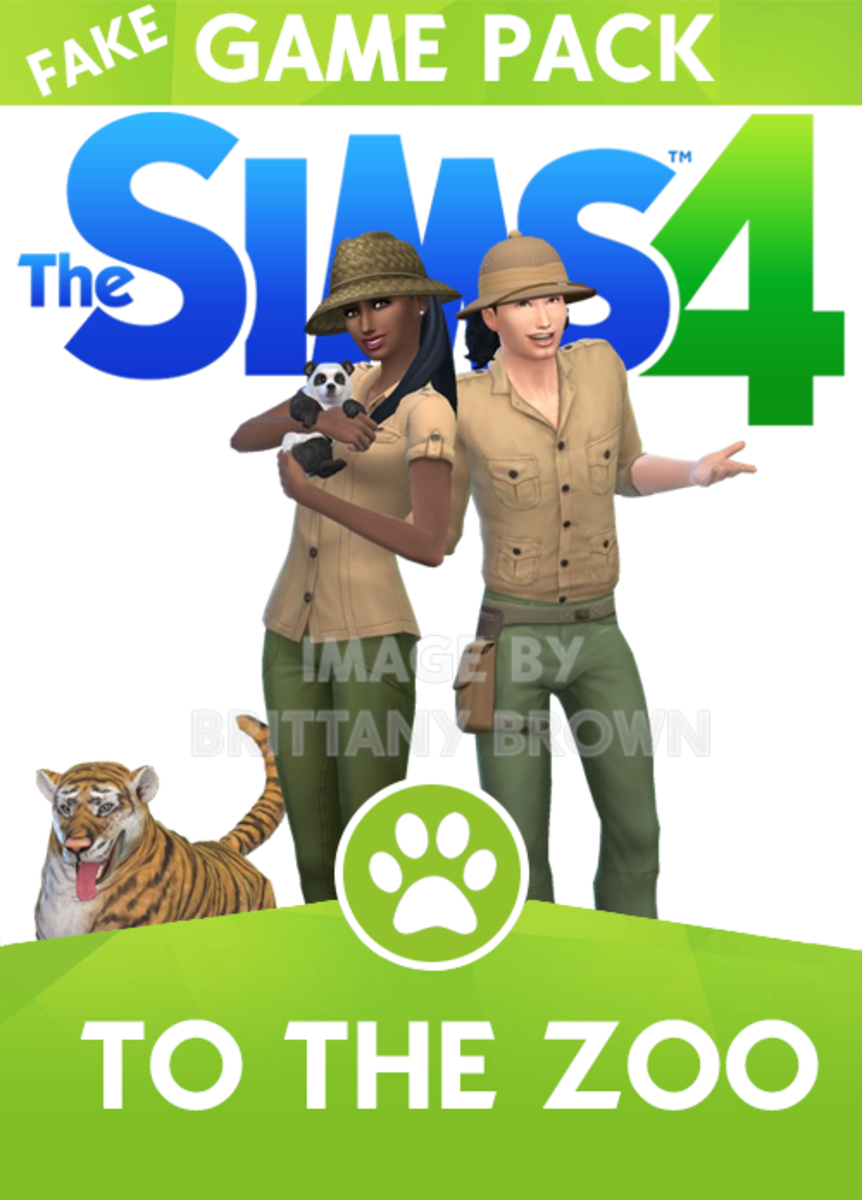 Sims 4 To The Zoo Game Pack.  You can find the tiger in Sims 4 Gallery by Grievous501st and the panda bear by CelticKalyrra.  Sims 4 Pets EP required to download them.