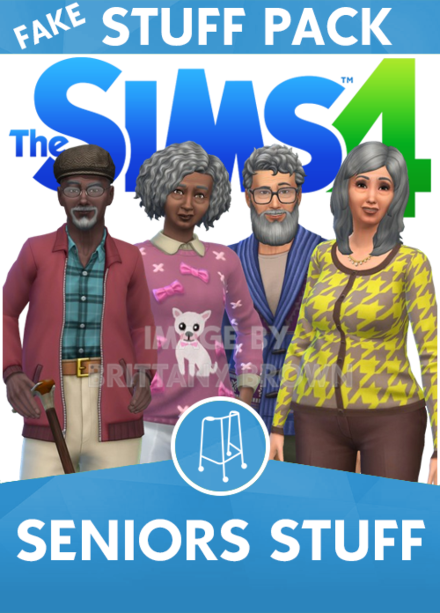 The Sims 4 Seniors Stuff Pack.  Cane accessories  by HistoricalSimsLife.