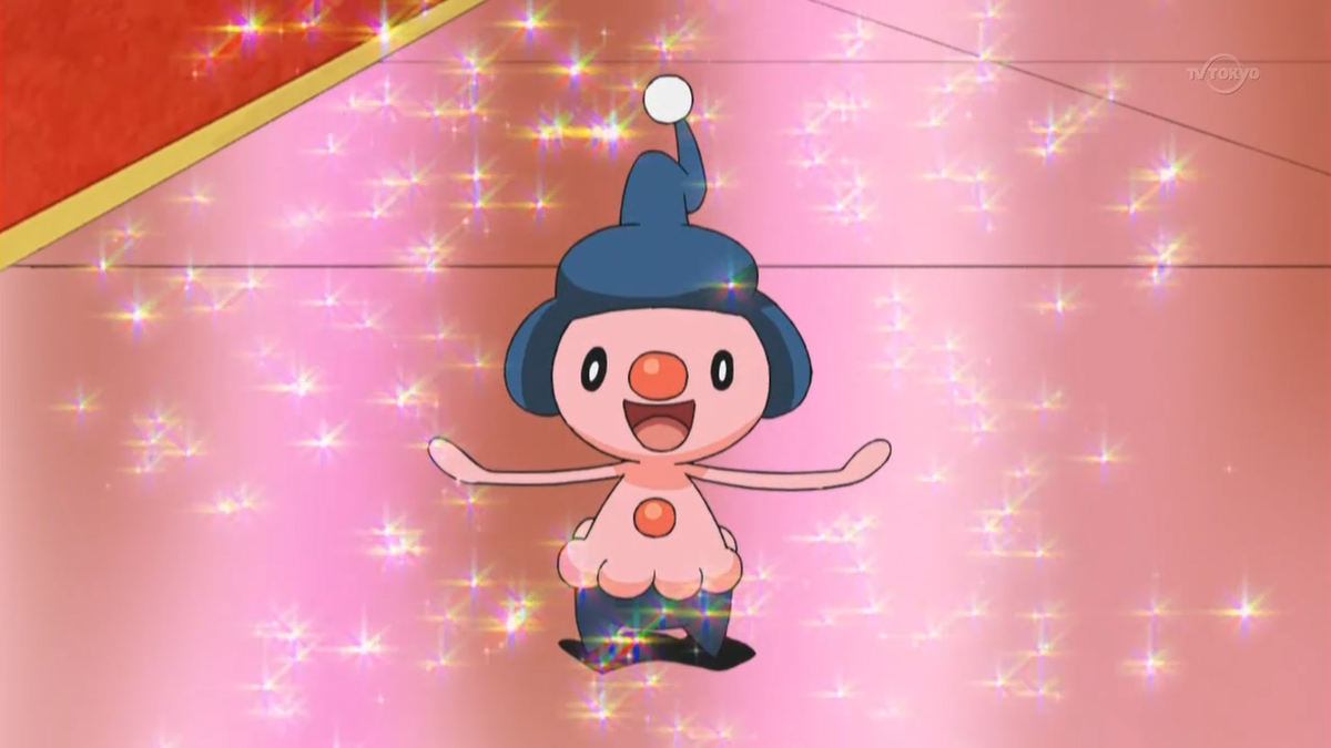 Mime Jr. in the anime