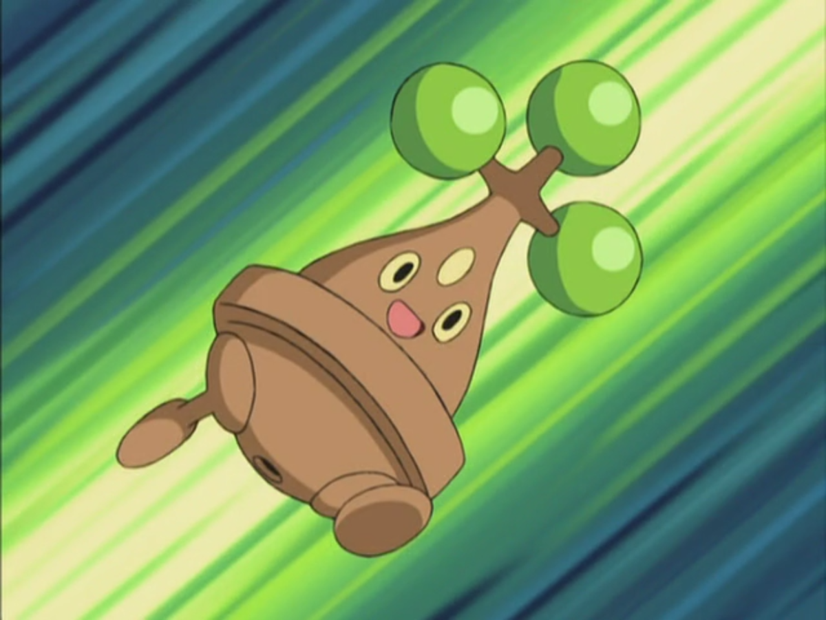 Bonsly in the anime