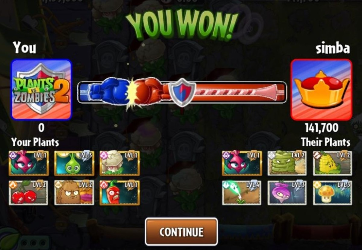 The results screen in Battlez mode