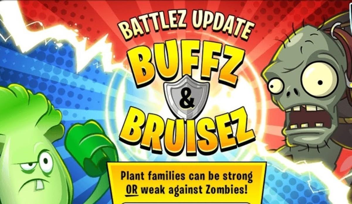 Buffz and Bruisez in PvZ2